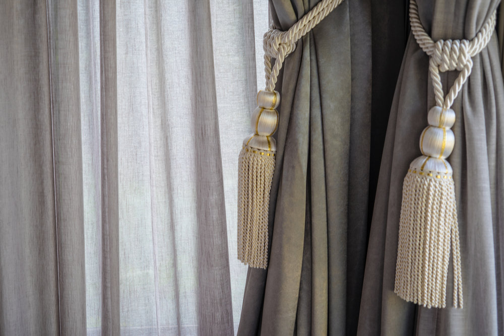 CURTAINS & BLINDS -