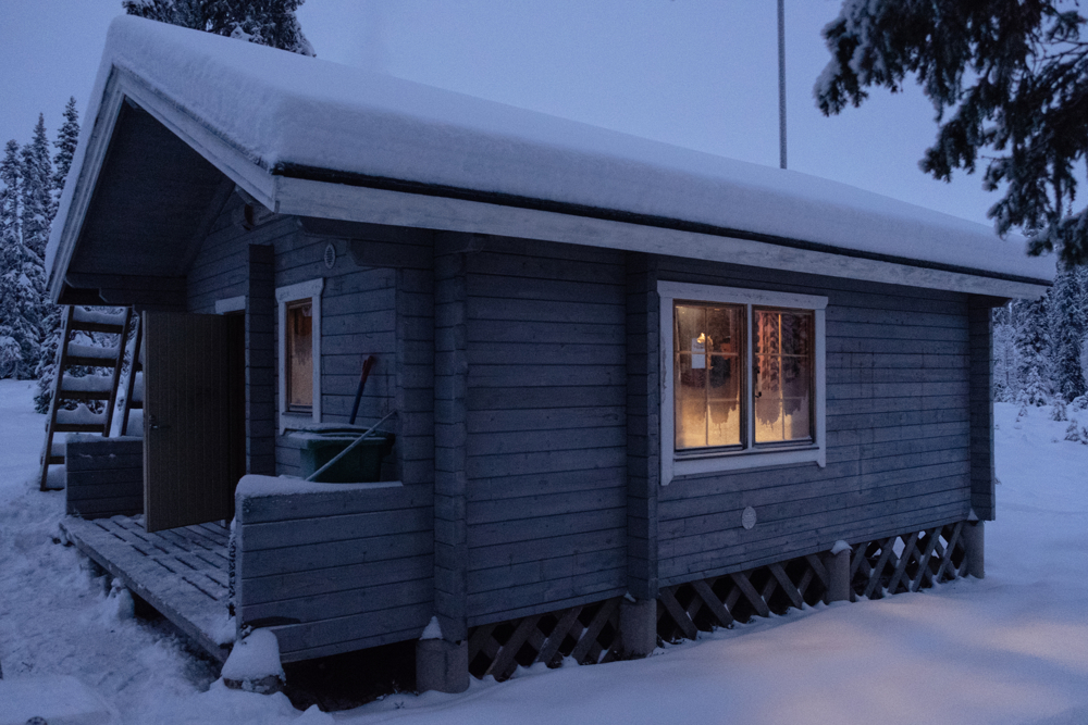 Cottages are very small and they can normally host no more than two people. Working shifts for Border Guards in Lapland can be as long as 5 days in a row, in which they are always ready to respond in case of emergency.