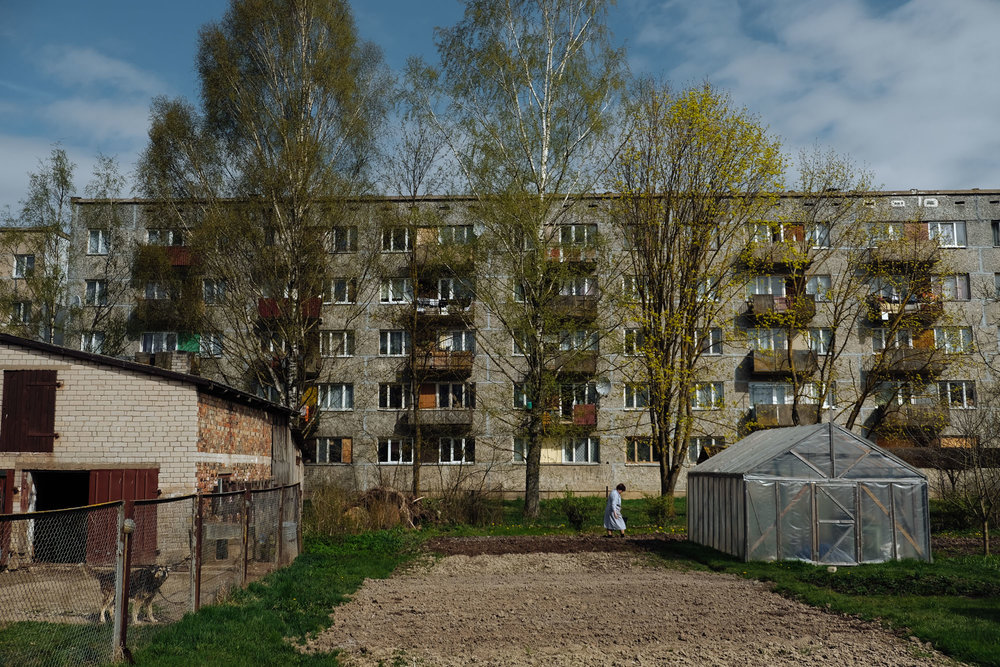 The population of Latvia, similarly to a common trend throughout Europe, is ageing fast. This, combined with the high levels of emigration of young people, creates a landscape where elderly people are the only one populating the most rural areas.