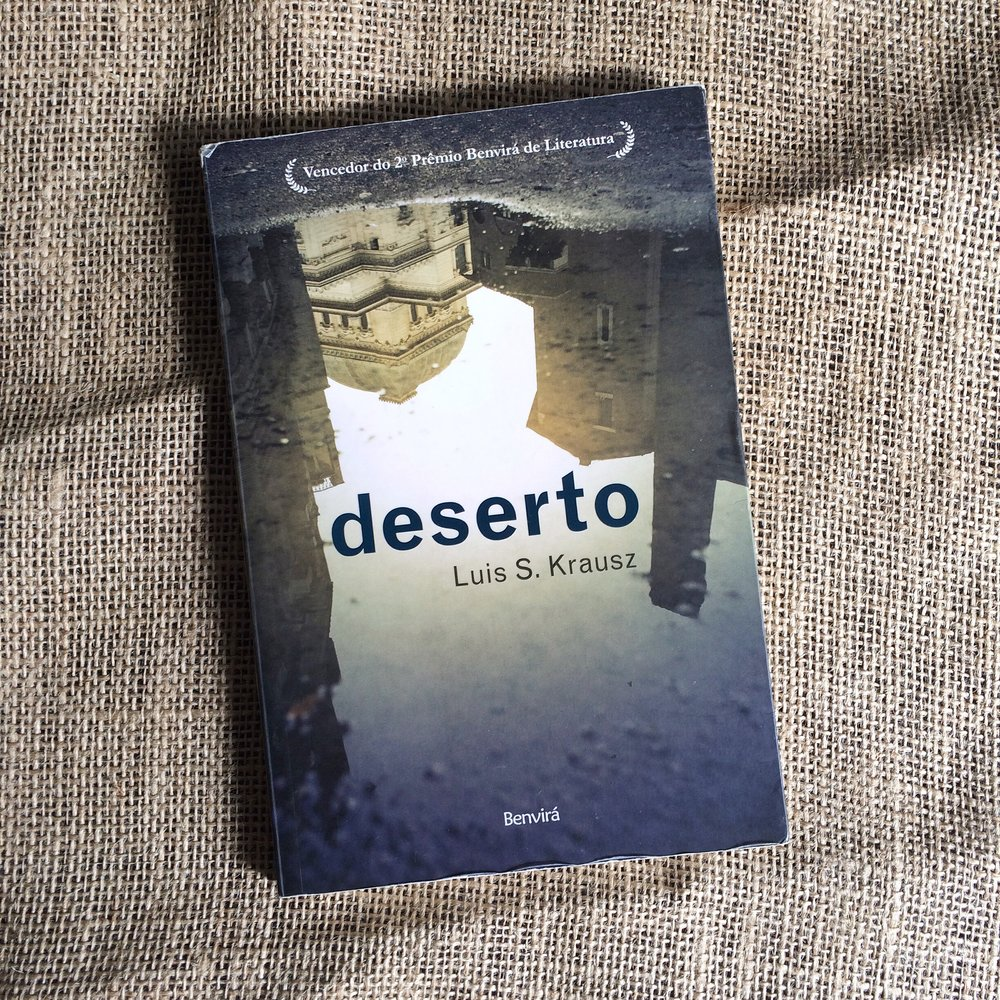 Title:  Desert   Author: Luis S. Krausz  Year of publication: 2013  Pages: 152  Publisher: Benvirá (Brazil)  World English rights available.  Desert  was published in German translation by Sonderzahl in 2017.