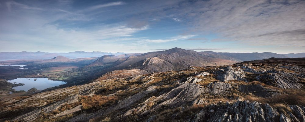 The stunning landscape that inspires us at Truffle Honey. Image copyright of Norman McCloskey  normanmccloskey.com