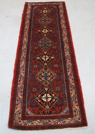 Traditional Enjilas Runner    Size Measurements: 218cm x 73cm
