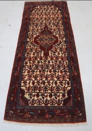 Traditional Tajabad Runner    Size Measurements: 212cm x 77cm