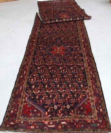 Traditional Tajabad Runner    Size Measurements: 519cm x 110cm