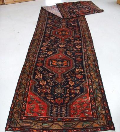 Traditional Tajabad Runner    Size Measurements: 555cm x 111cm
