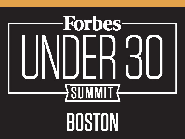Forbes Under 30 Summit 2018.   Selected as a 'Forbes Fellow under 30' amongst thousands of applicants in order to attend for free the Forbes Under 30 Summit in Boston 2018.