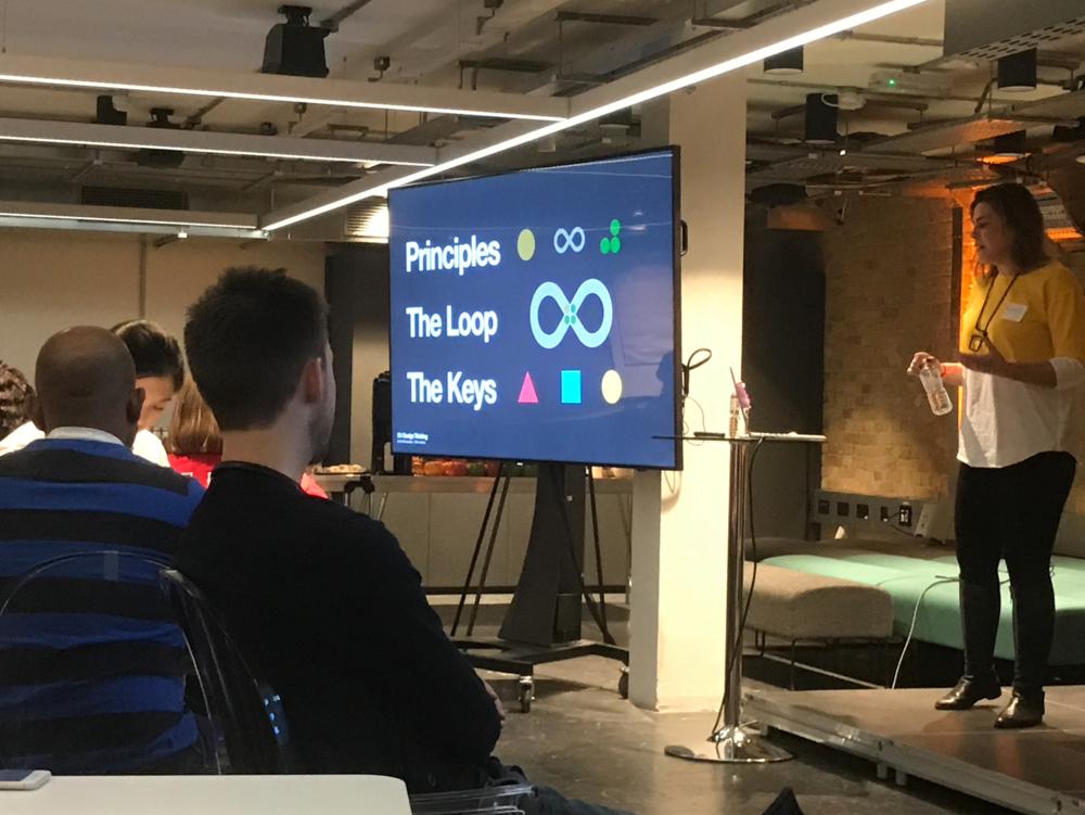 Mobile UX London 'IBM Design Thinking' Presentation 2018.