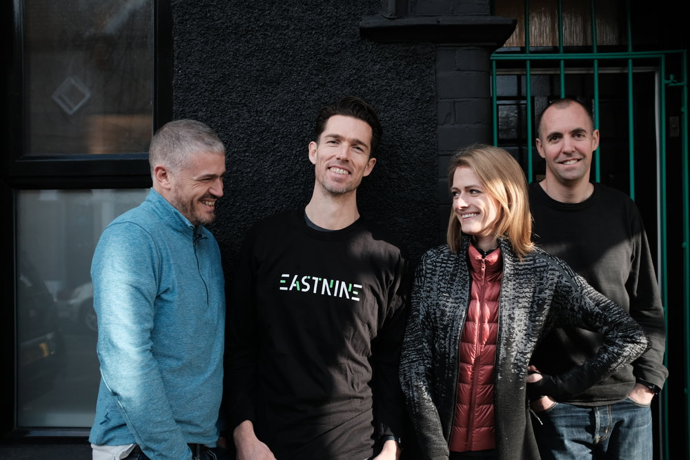 Eastnine co-founders, from left to right: Jason Goodman, David McCreary, Cat Forrest and Matt Harrison.