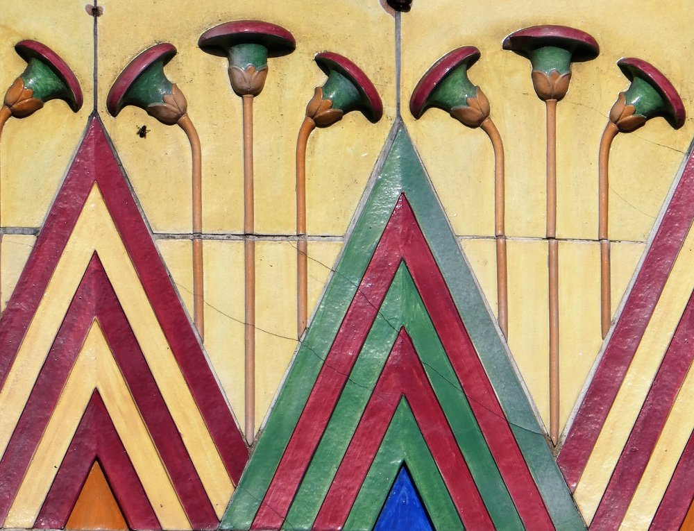 1930s cinema North London exterior detail