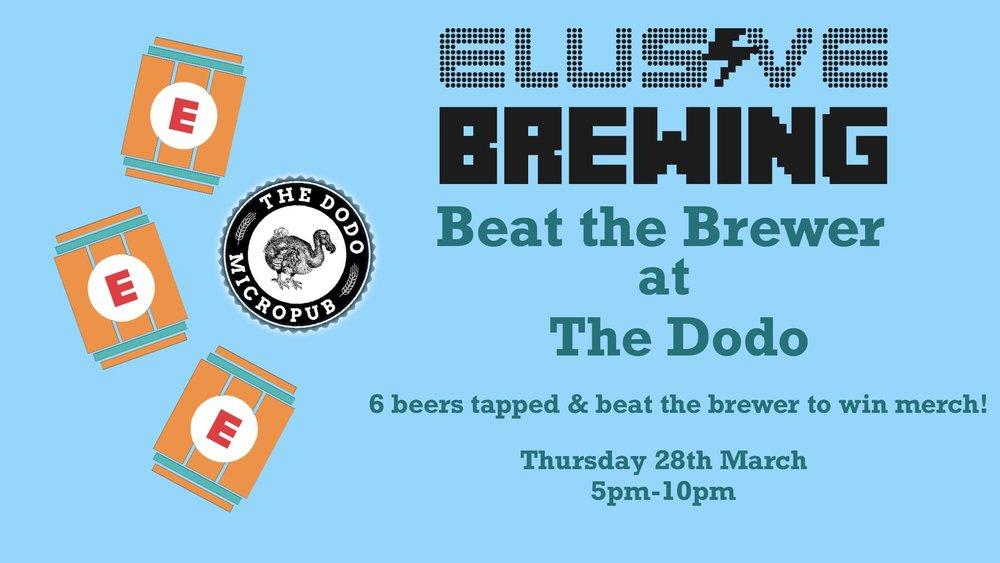 the-dodo-micropub-elusive-brewing-event