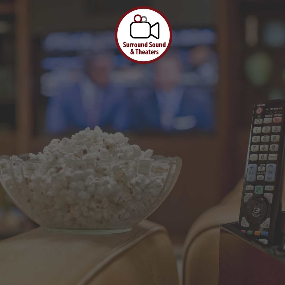 SURROUND SOUND & HOME THEATERS - While whole house audio will allow you to distribute music throughout your home, a surround sound system or home theater involves different wiring and products.LEARN MORE >
