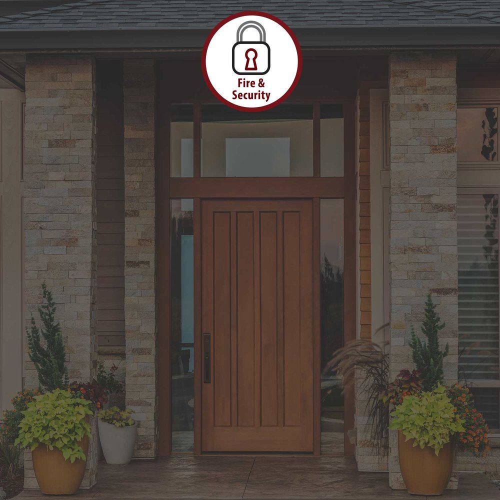 FIRE & SECURITY SYSTEMS - Fire and security systems provide you and your family the peace of mind needed in today's world. From the basic security and fire system to the all-encompassing systems, the possibilities are endless.LEARN MORE >