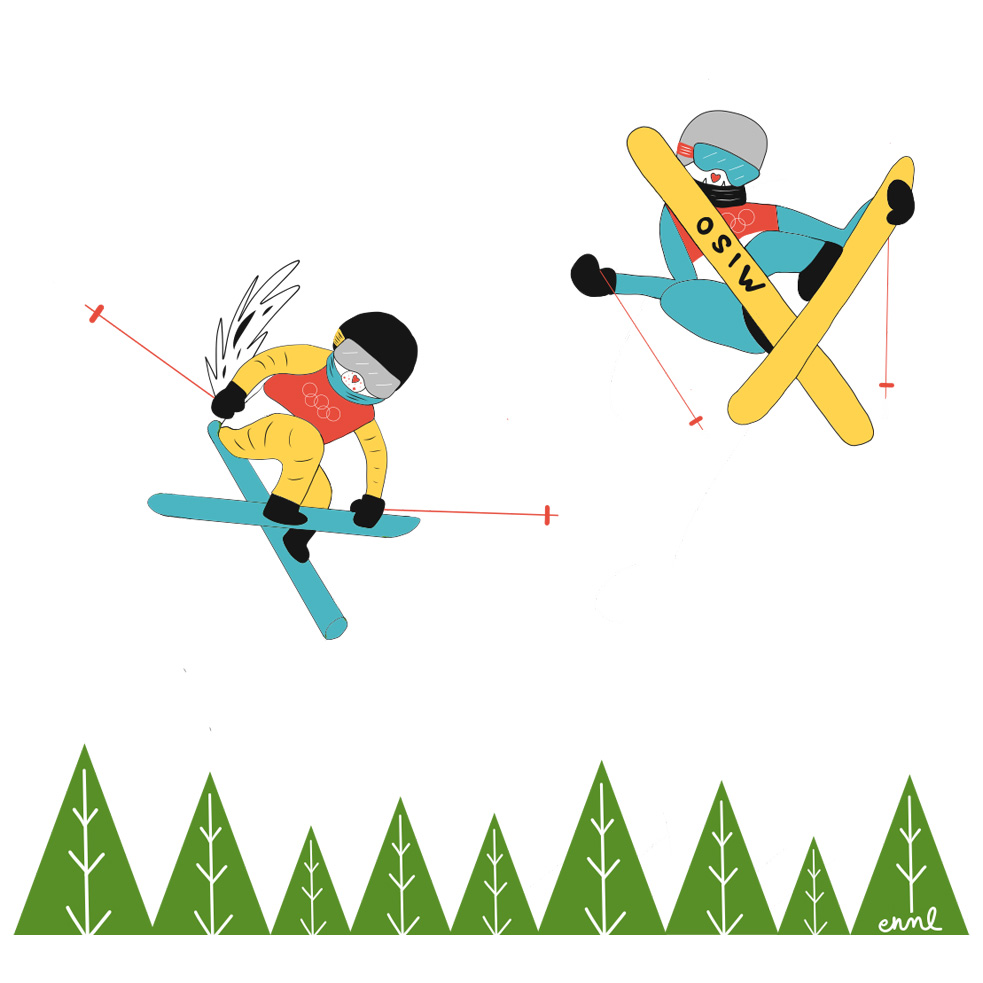 Cider and Miso: Freestyle Skiing