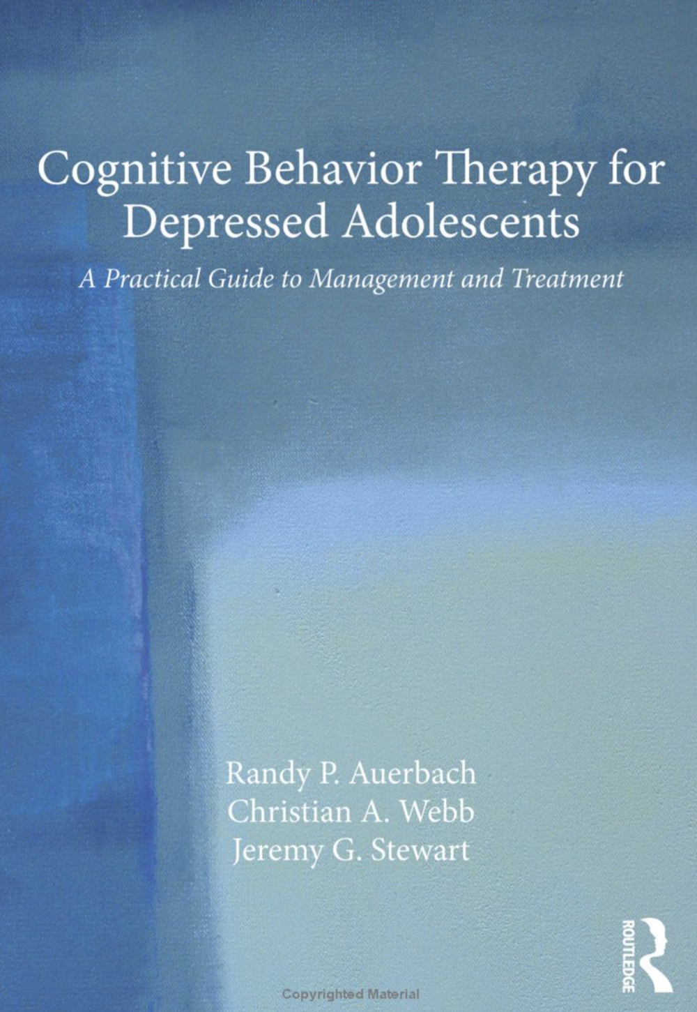 Cognitive Behavioral Therapy (CBT) for Depressed Adolescent Girls - Within a trial of CBT for depressed adolescent girls, we are examining the extent to which teens acquire and utilize different cognitive and behavioral emotion regulation skills. As well, we are examining neural (EEG/ERP) predictors and mechanisms of change in CBT. This work is being conducted in collaboration with Dr. Randy Auerbach at Columbia University.