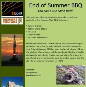 """End of Summer"" Invitation"