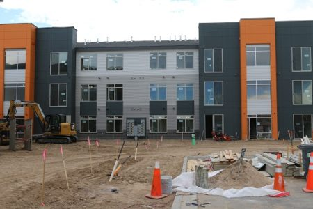 Apartment Construction Staking