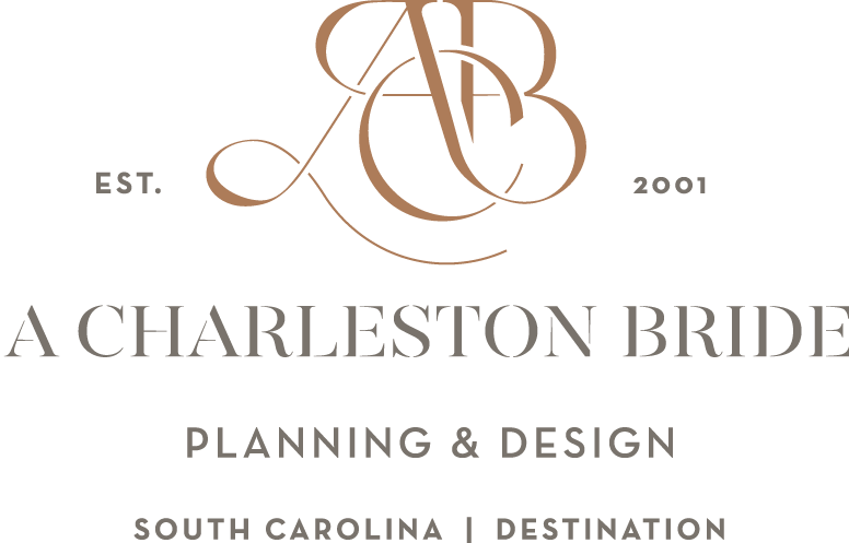 Charleston wedding planner |  A Charleston Bride