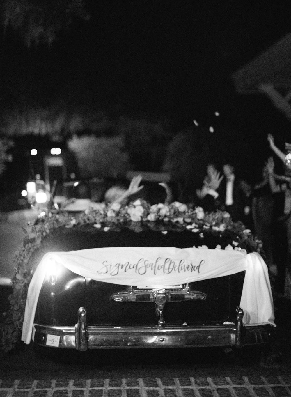 Timeless black and white wedding photography in low country South Carolina. Wedding planning and design by A Charleston Bride.