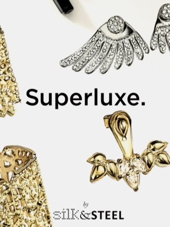 silk & steel Jewelry - Fashion Illustration