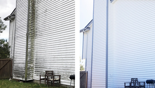 Before & After Siding