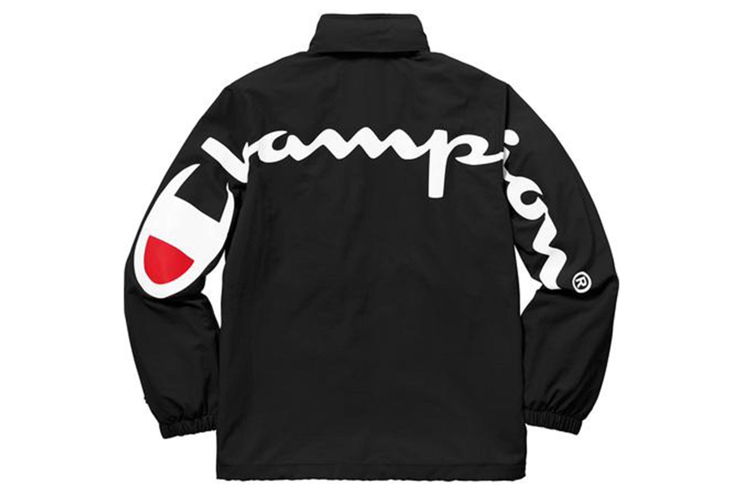 eacdaeac62d Supreme Champion Track Jacket Black — Tidy SNKRS