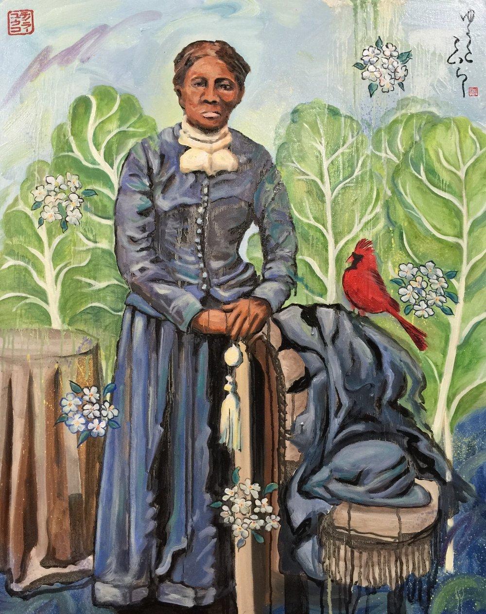 """Harriet Dream """"Sending Cardinals"""""""