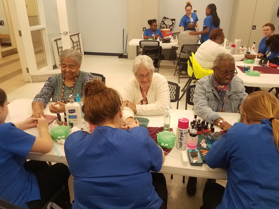 There are always fun and engaging activities at JABA's Adult Care Centers.