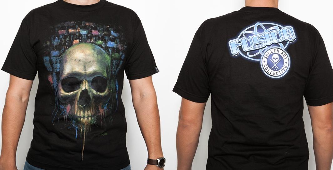 Fusion Ink Skull T-Shirt — Fusion Tattoo Ink