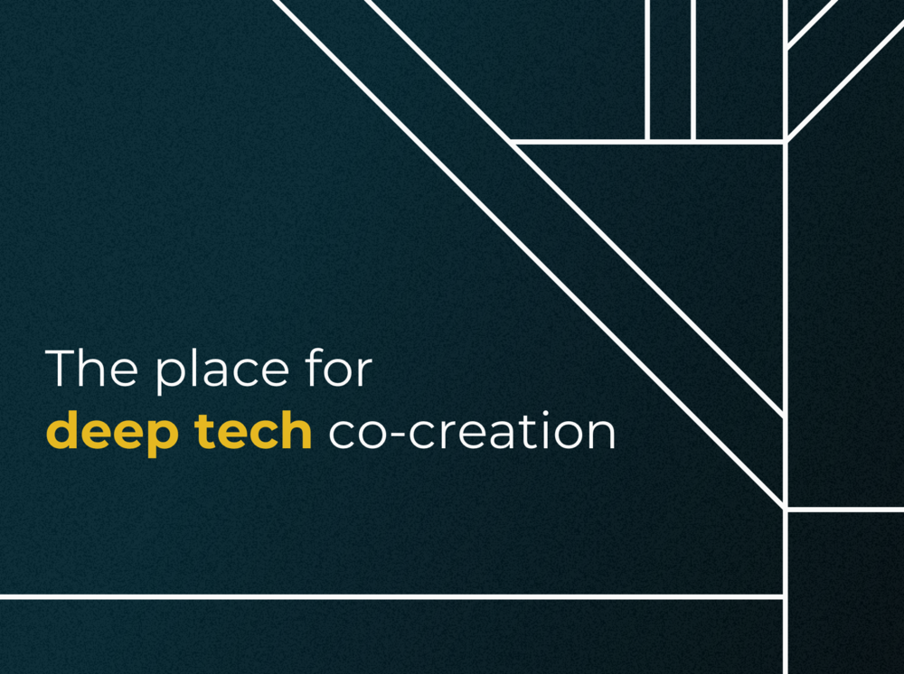 Maschinenraum A new brand for Germany's home for deep tech co-creation.