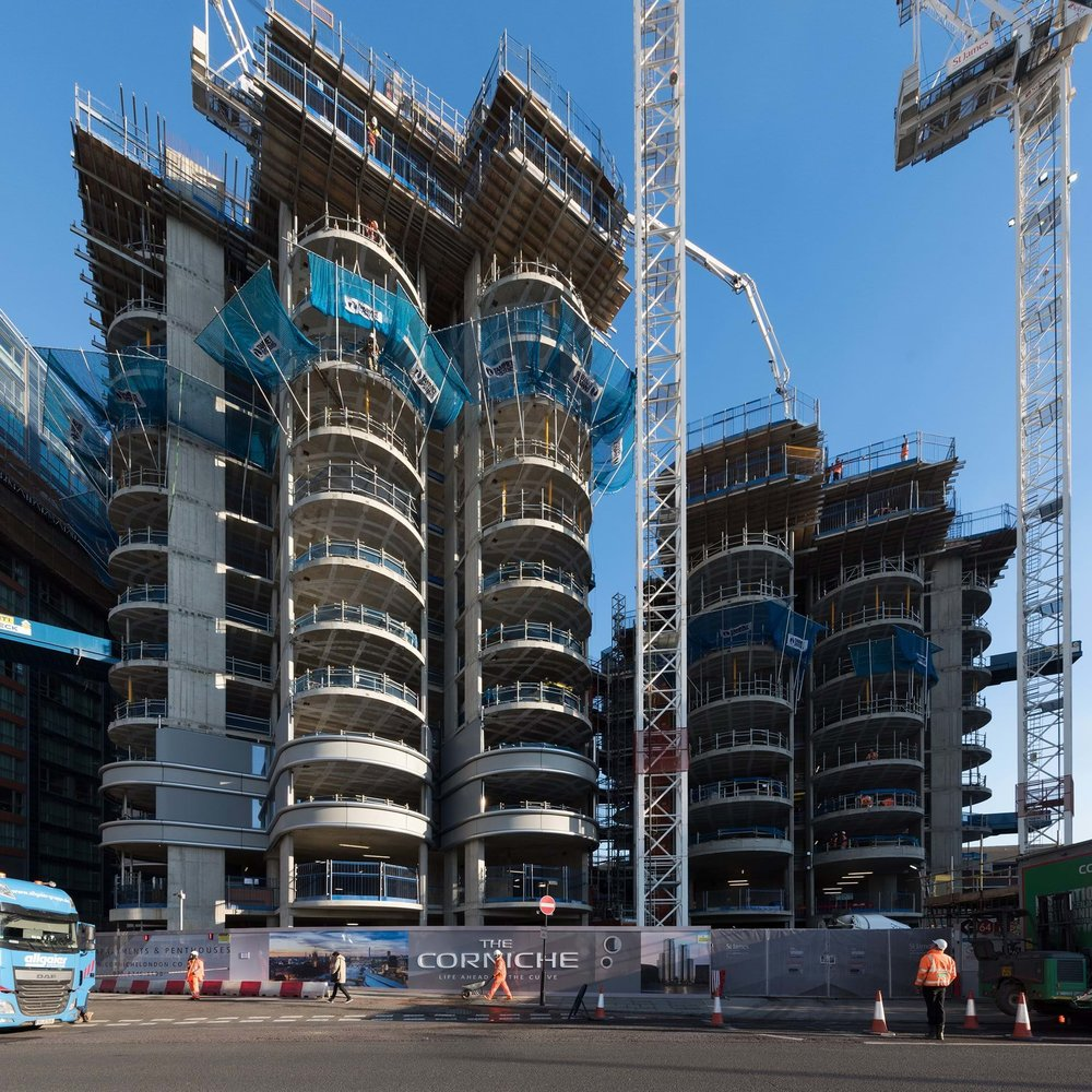By Foster+Partners Buidling a mixed-use development of three landmark towers.