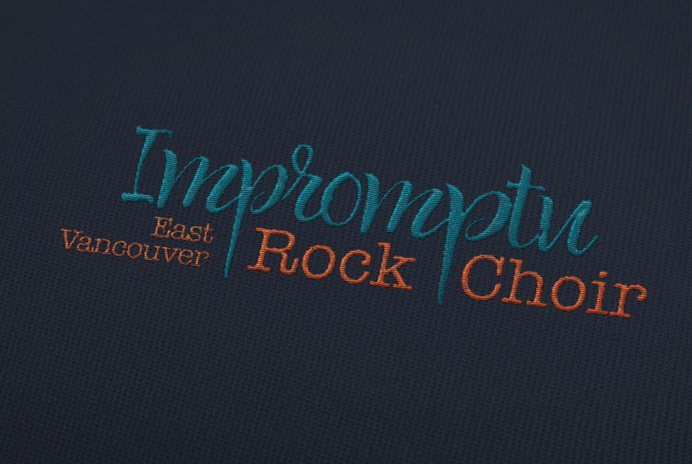 Logo Design: Impromtu Rock Choir