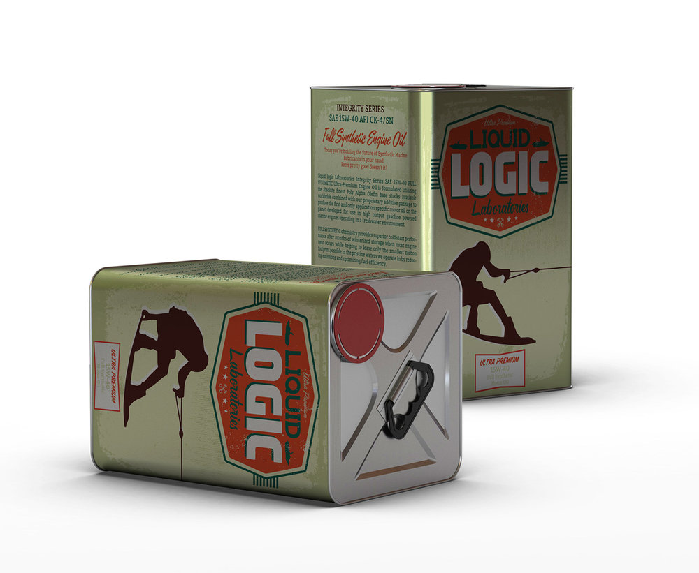 Package Design: Logic League Laboratories