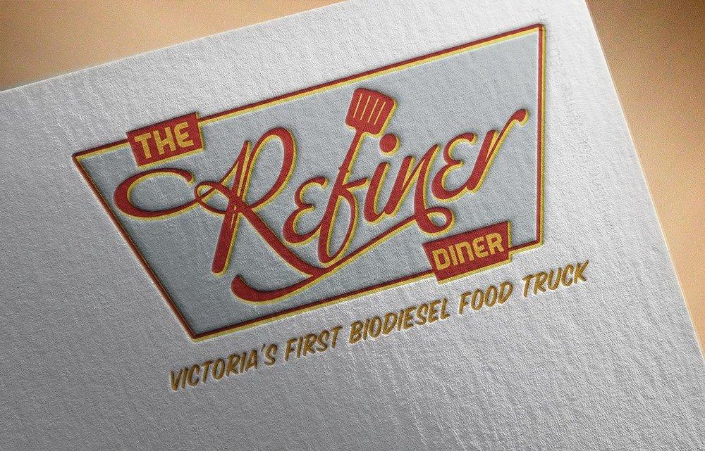 Logo Design: Refiner Diner Food Truck