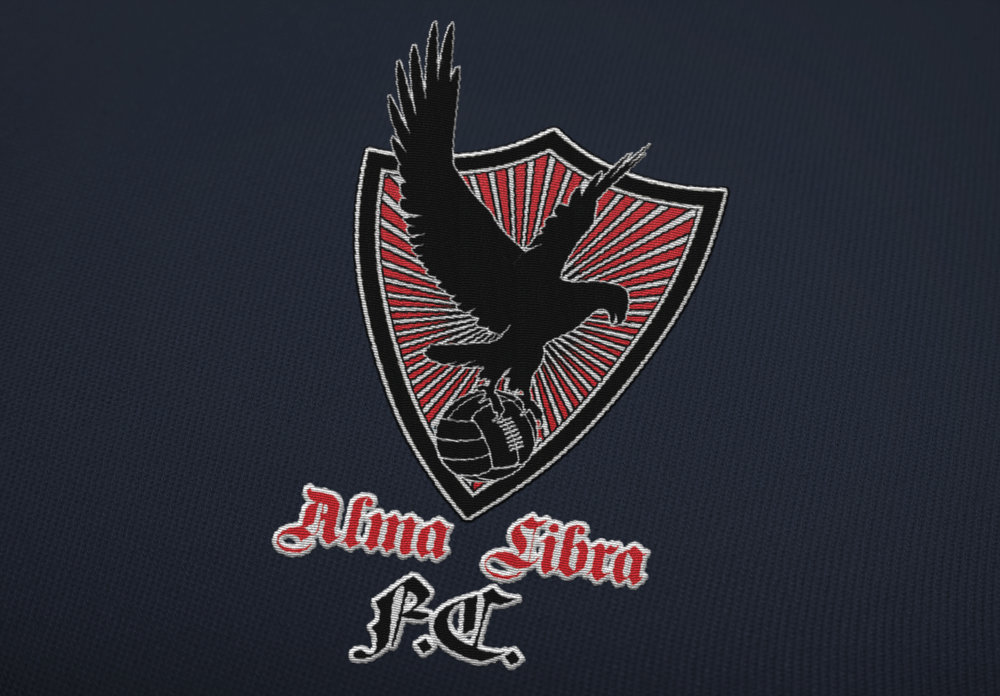 Logo / Embroidery Design: Alma Libre Futbol Association