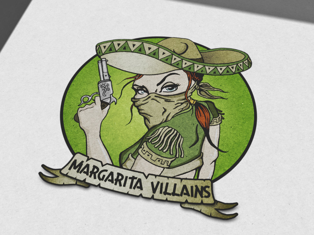Illustrsation / Logo Design: Margarita Villains