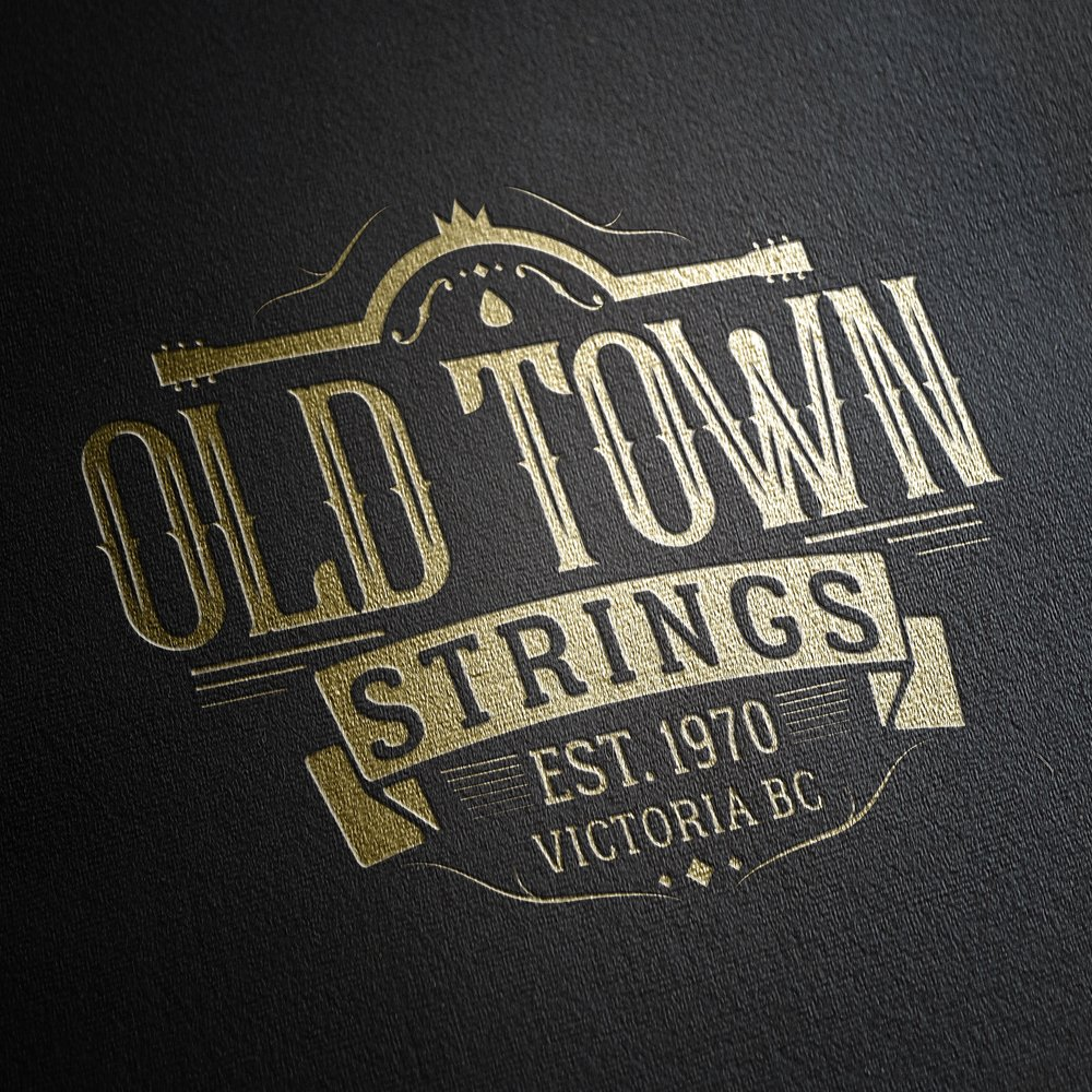 Logo Design: Old Town Strings