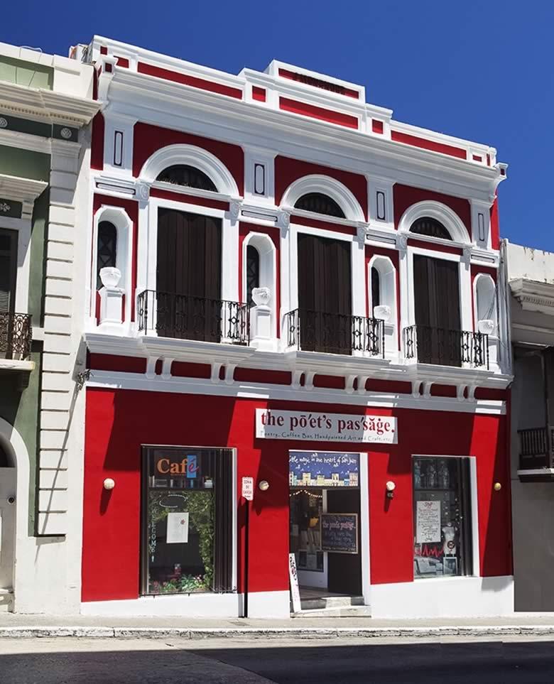 The Poet's Passage, Old San Juan, Puerto Rico