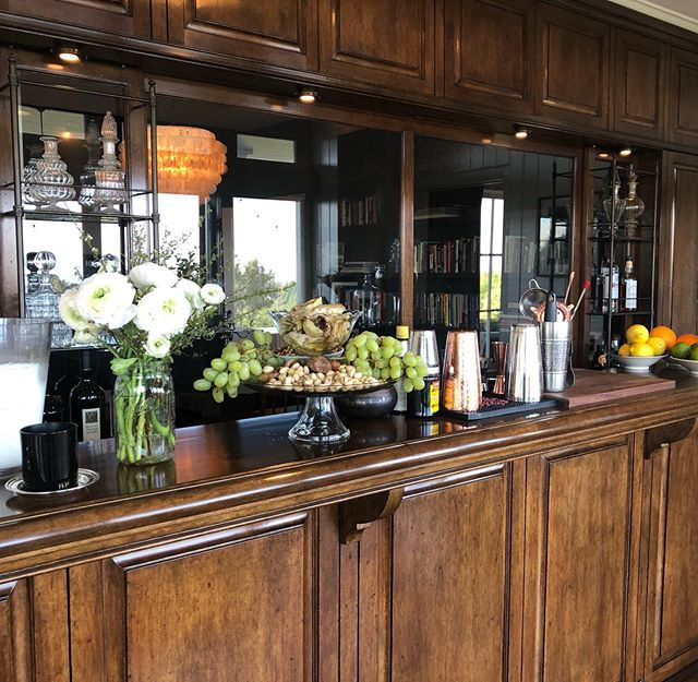Our favorite bar we designed after a trip to France #interiordesign #entertaining #bars #customfurniture
