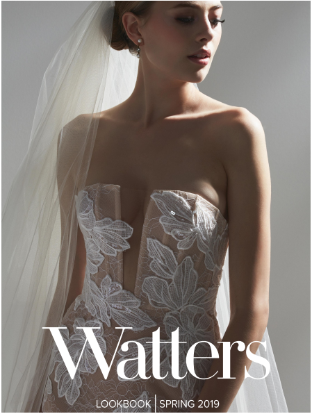 Coming Soon To Panache Bridals Of Pasadena 2019 Waters Line, our Panache Bridals Location will have additional best selling styles by this brand. Make your appointment today by visiting out appointments page Select Pasadena and fill in the form. Leave us a message there about Watters.