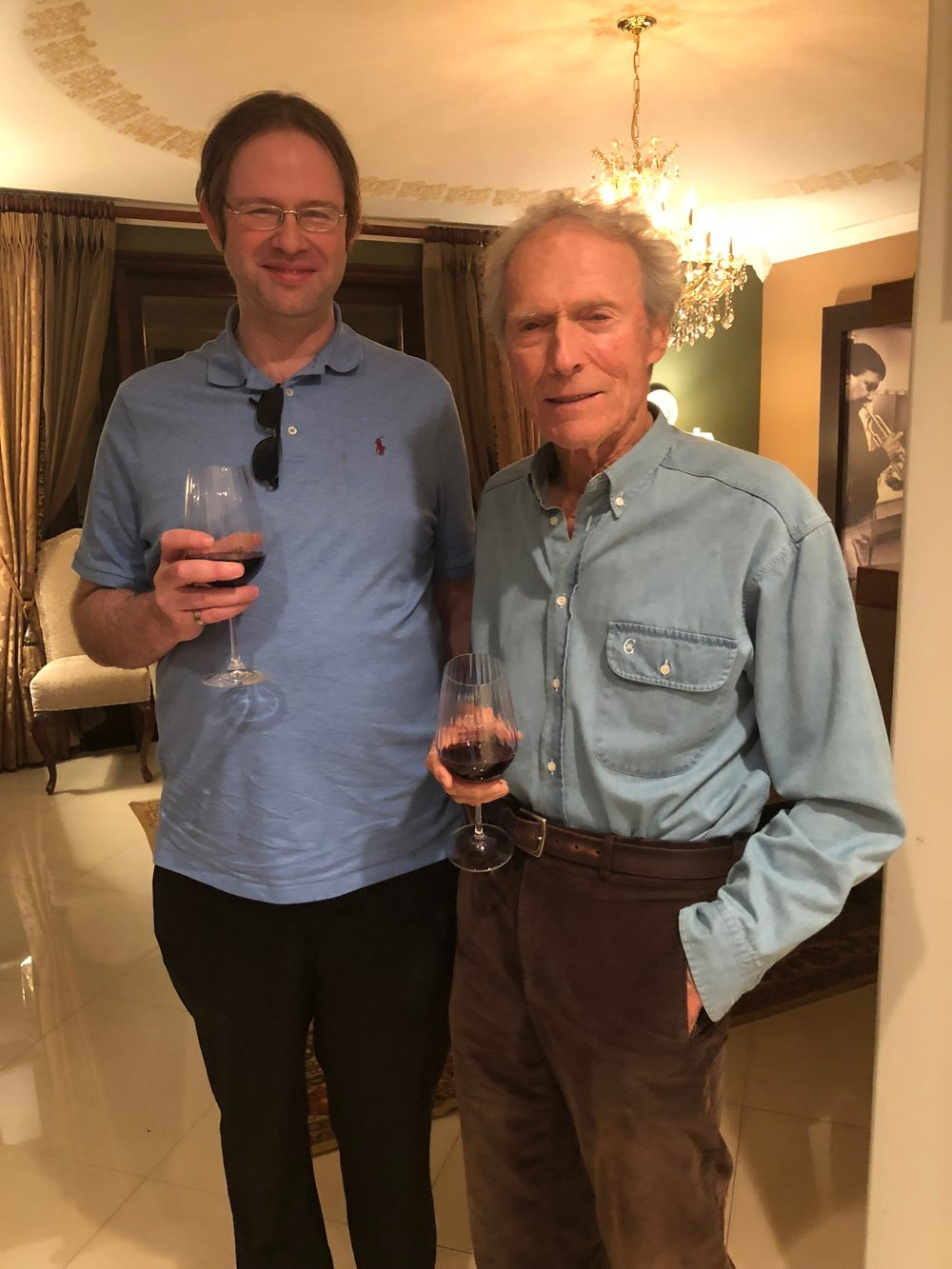 Kaska with Clint Eastwood