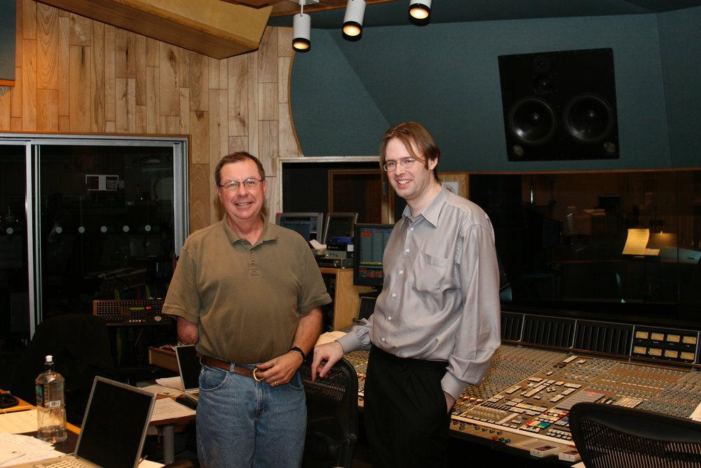 Engineer Shawn Murphy & Kaska at Todd AO