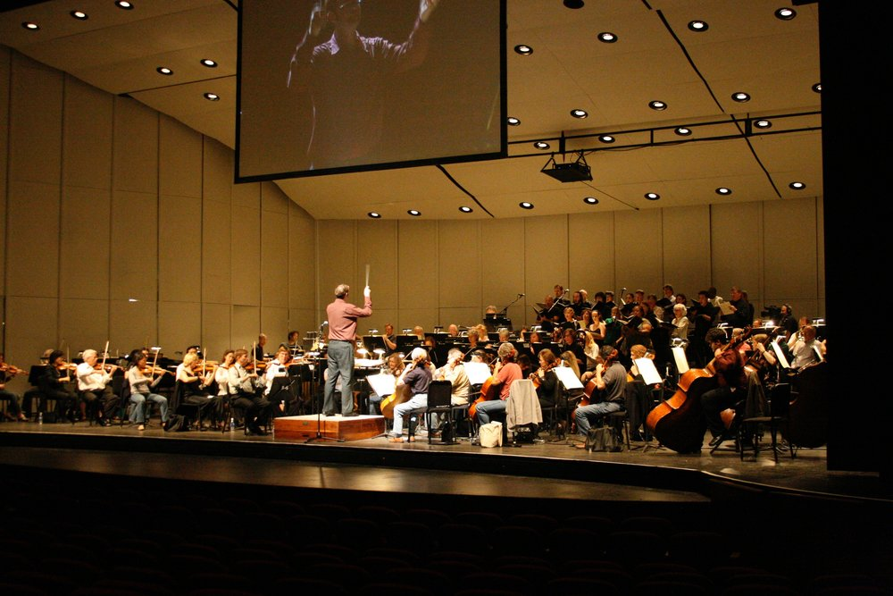 Kaska Conducting Silicon Valley Symphony
