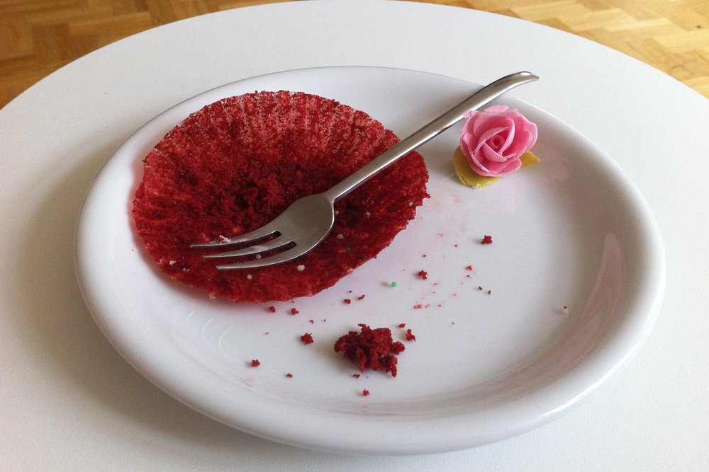Oh… Crumbs - Nothing left here to see...