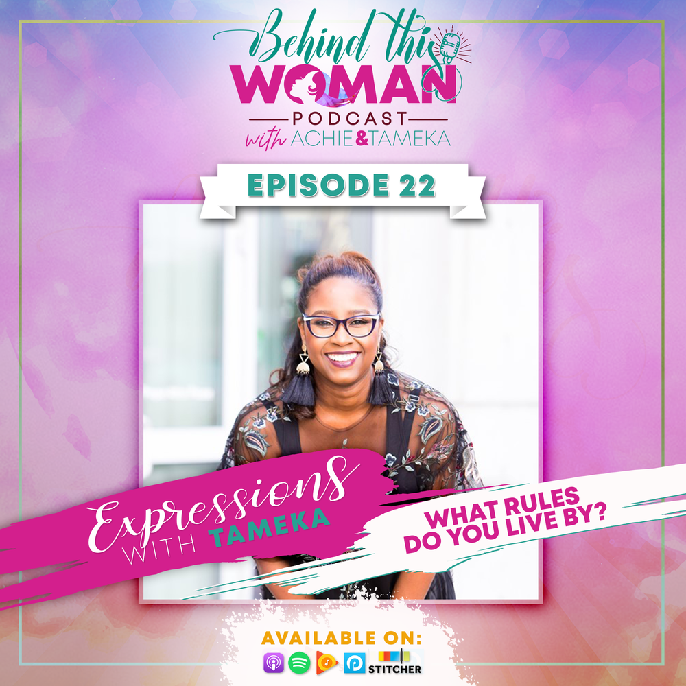 - Listen in as Tameka shares the 7 perspective shifts that helped her develop a healthier self image, operate with more confidence, and trust her own intuition with less doubt + fear. Check it out and let us know what personal rules you live by, comment below.