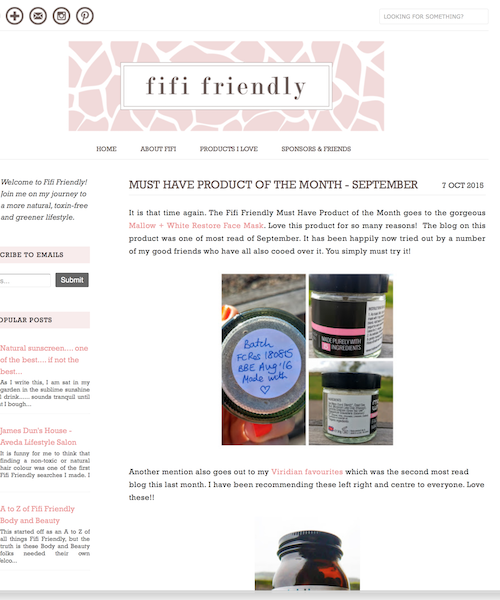 """THIS MASK ROCKS!  Restore mask """"This mask rocks! I love it. It really pulls out impurities, but importantly did not leave my skin feeling like it was ready to crack afterwards.""""   fifi friendly"""