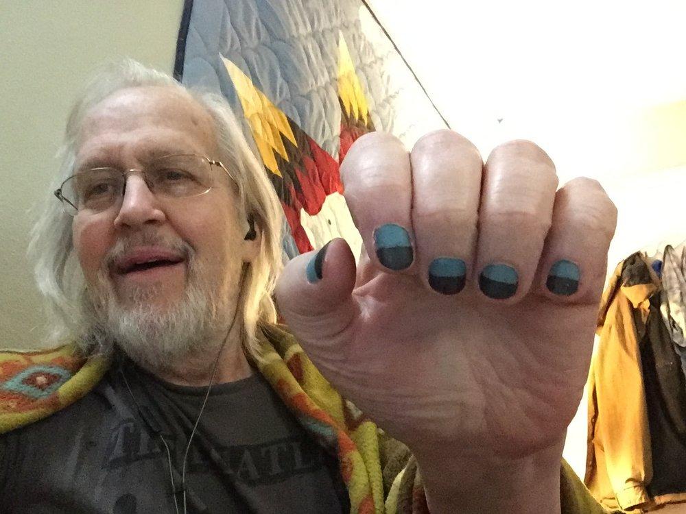 Jeri's 2019 ManGlaze nails