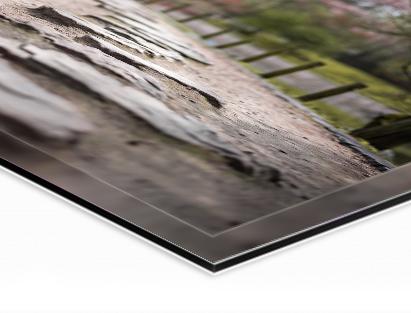 Highlights   Glanzend premium acrylglas  Afdruk op hoogwaardig Fuji fotopapier  75 jaar lang kleurintensief  Achterwand van alu-Dibond  Premium product voor de hoogste eisen
