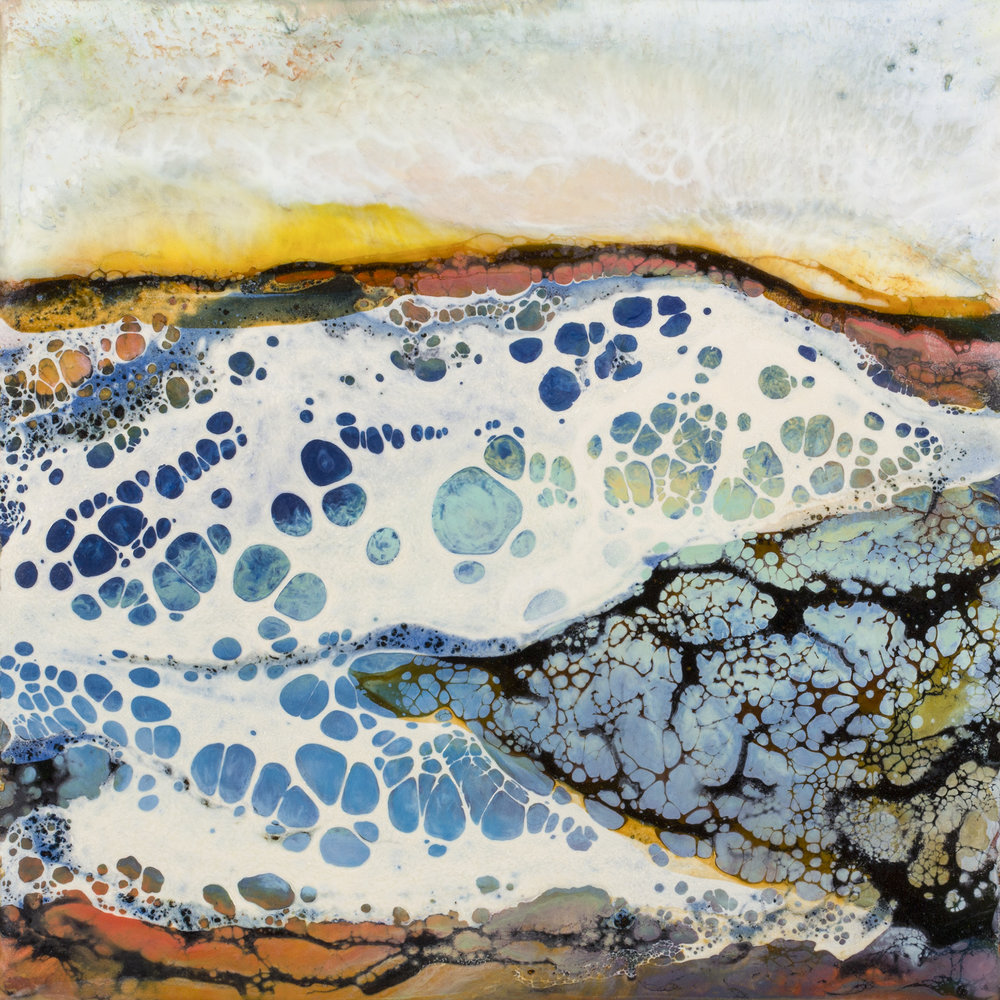 DAY WAVE 6X6 inches,  Sold      Prints Available