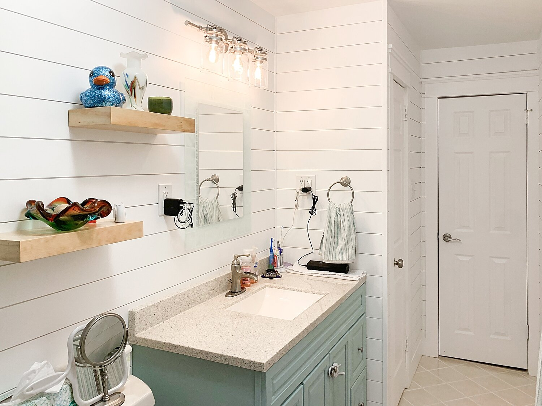 Coastal Farmhouse Bathroom Made By Muermanns