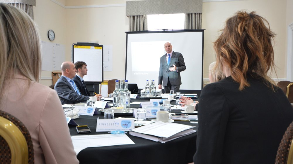 The pinnacle academy Programme  - A 12-month Management Development Programme for new & existing managers